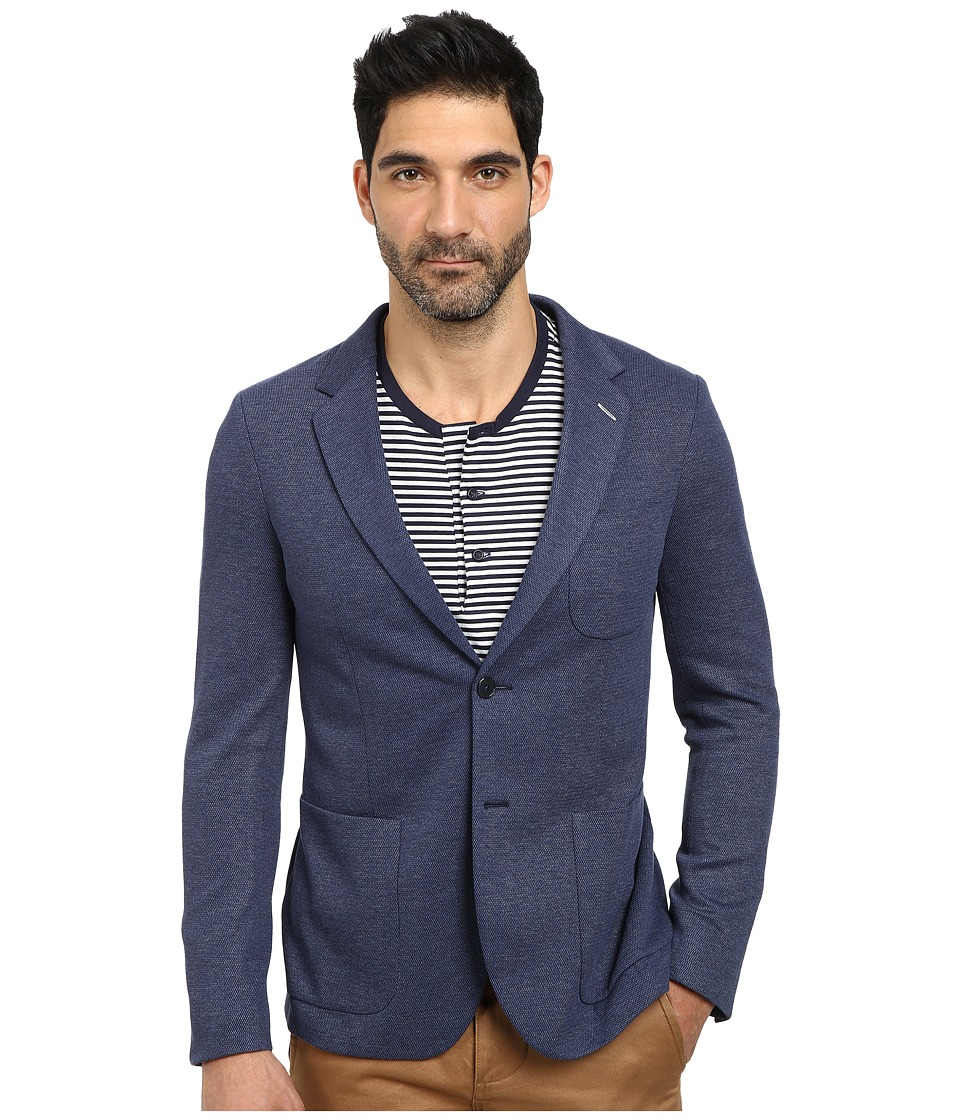 Gant Rugger - R. Jersey Unconstructed (Midnight Sky) Men's Jacket