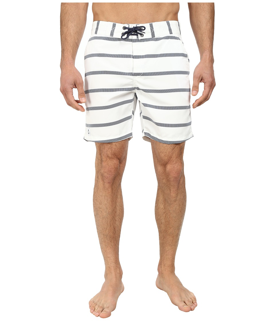 WeSC - Omril Swim Shorts (White) Men's Swimwear
