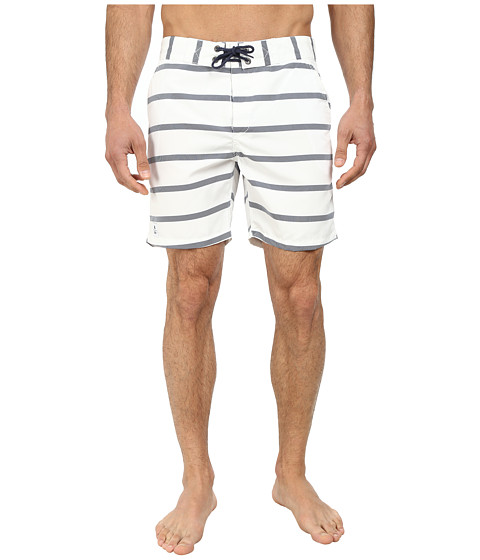 WeSC - Omril Swim Shorts (White) Men