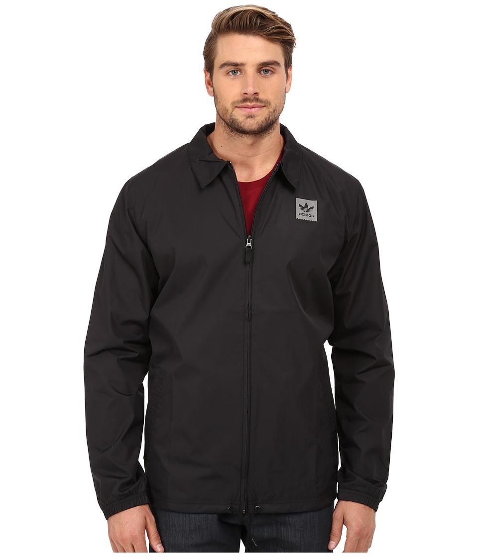 adidas Skateboarding - Coaches Jacket 2.0 (Black) Men's Coat