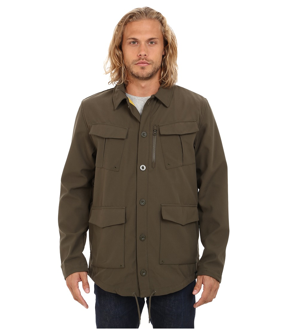 adidas Skateboarding - GSG9 Jacket 2.0 (Oak/Corn Yellow) Men's Coat