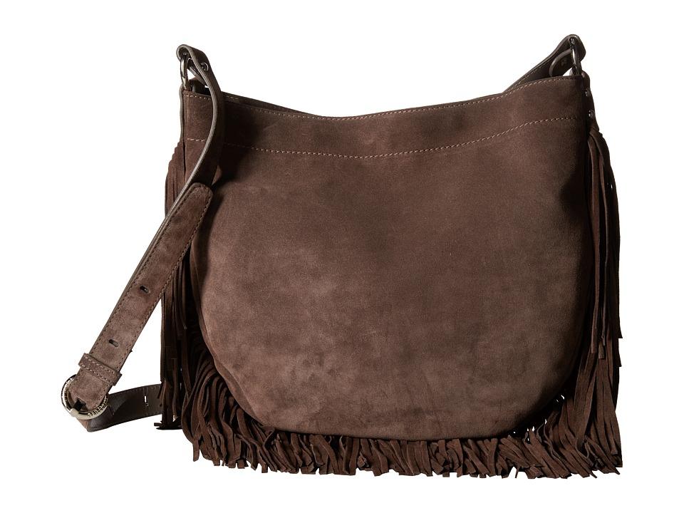 Stuart Weitzman - Santafe (Seal Velour) Shoulder Handbags