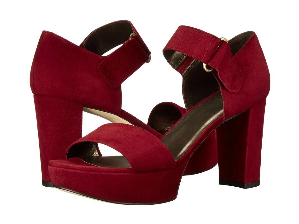 Stuart Weitzman - Causeway (Scarlet Suede) High Heels