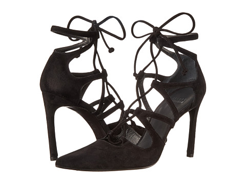 Stuart Weitzman - Excite (Black Suede) High Heels