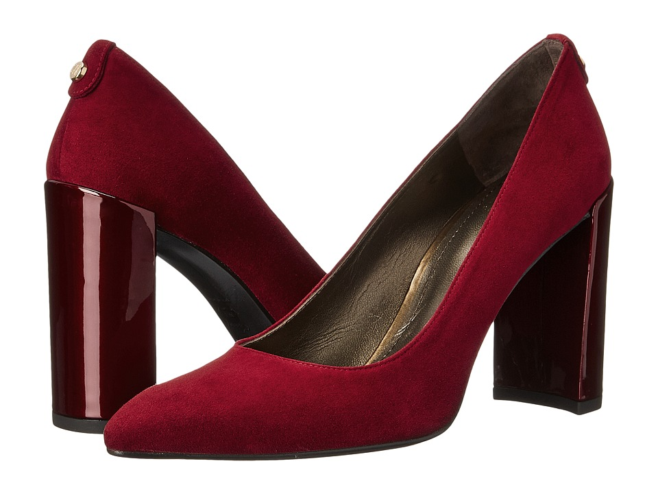 Stuart Weitzman - Logopower (Scarlet Suede) High Heels