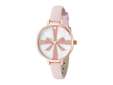 Kate Spade New York - Metro Wrapped Up Skinny Strap Watch - 1YRU0879 (Ballet Slipper) Watches