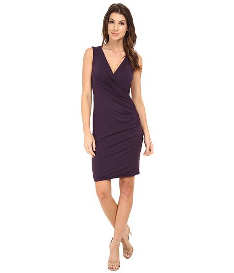 Michael Stars - Exclusive Sleeveless Surplice Dress (Gypsy) Women