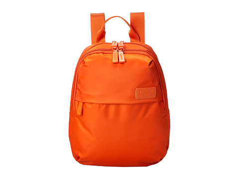 Lipault Paris - Mini Backpack (Tangerine) Backpack Bags