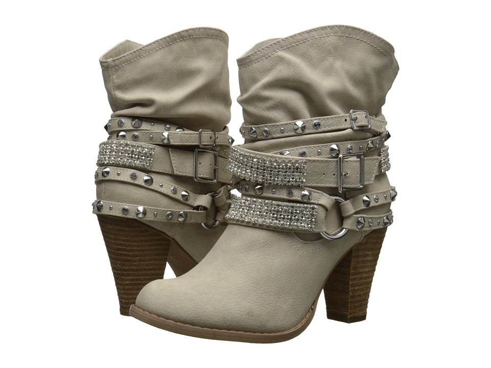 Not Rated - Swanky (Cream) Women's Pull-on Boots