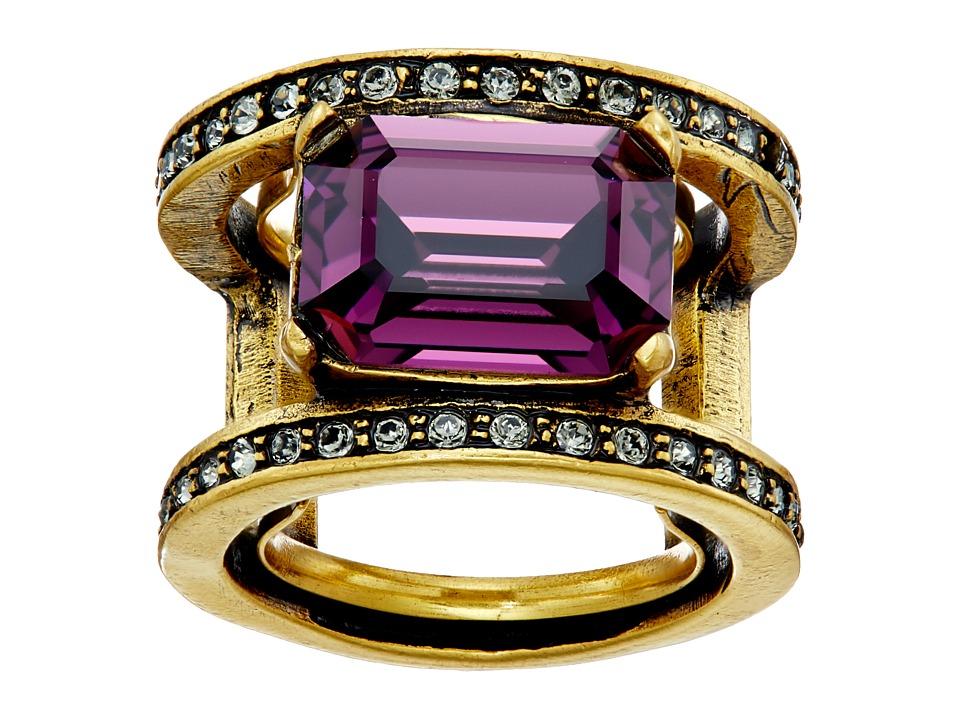 Oscar de la Renta - Octagon Stone Ring (Ultraviolet) Ring