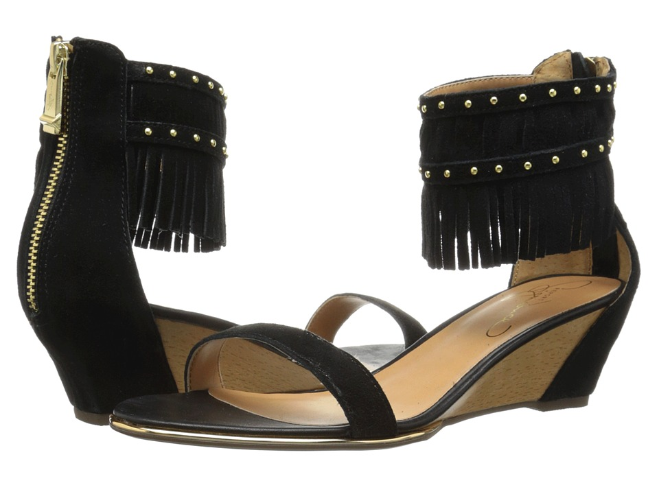 Report - Gizmo (Black) Women's Wedge Shoes