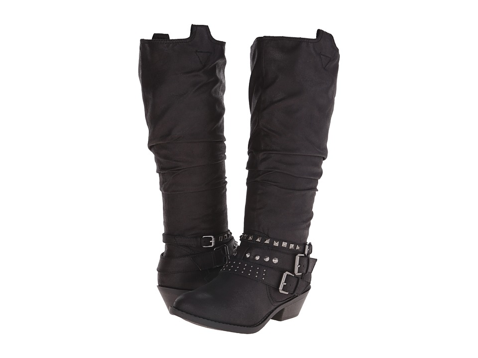 Report - Kathye (Black) Women's Zip Boots