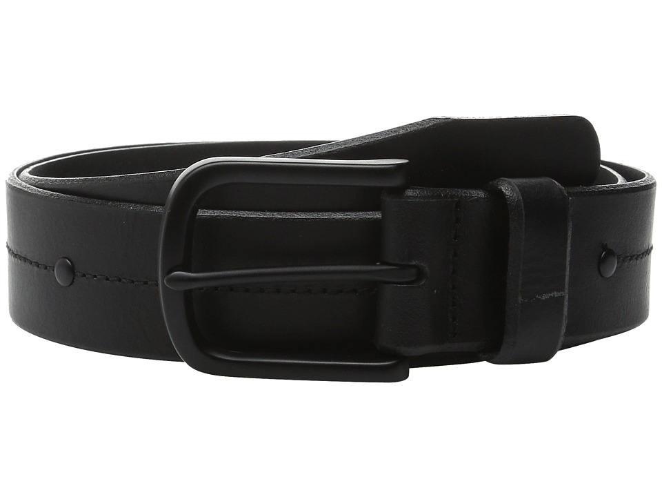 Allen Edmonds - Pierce Ave (Black) Men's Belts