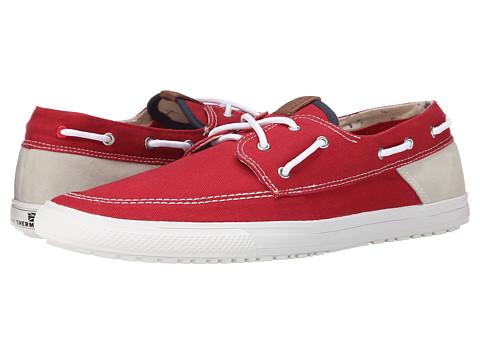 Ben Sherman - Smith (Red) Men's Slip on Shoes