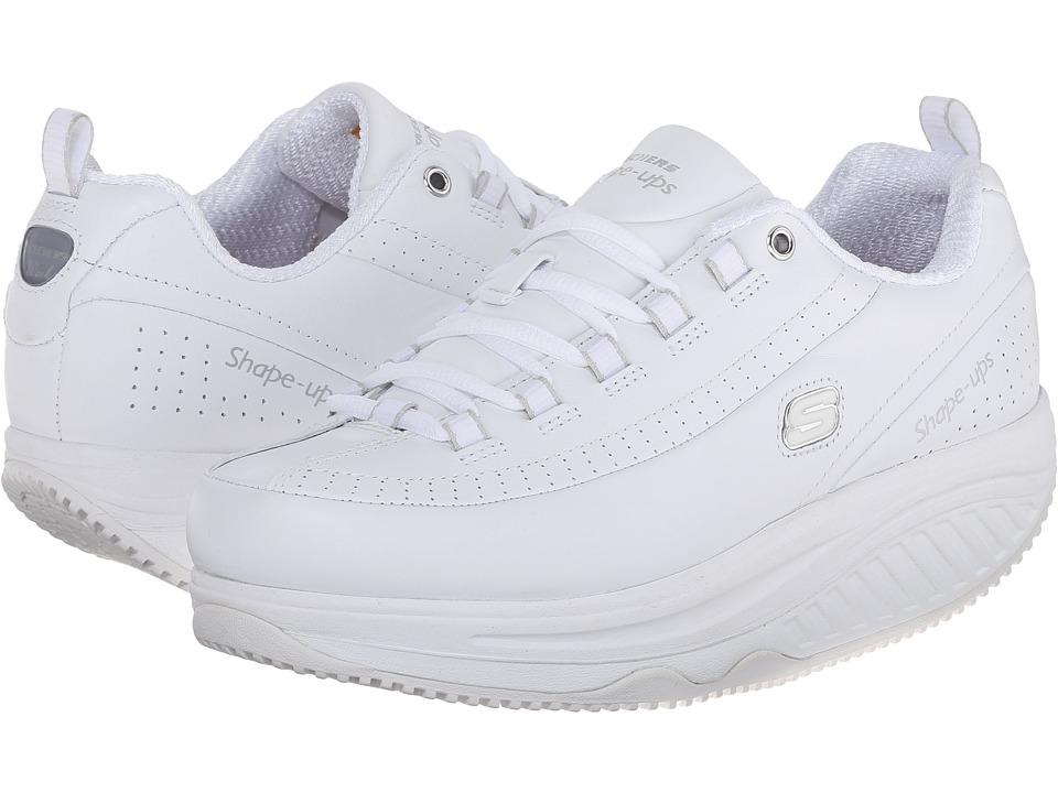 SKECHERS Work - Shape Ups Maisto Elon (White) Women's Industrial Shoes