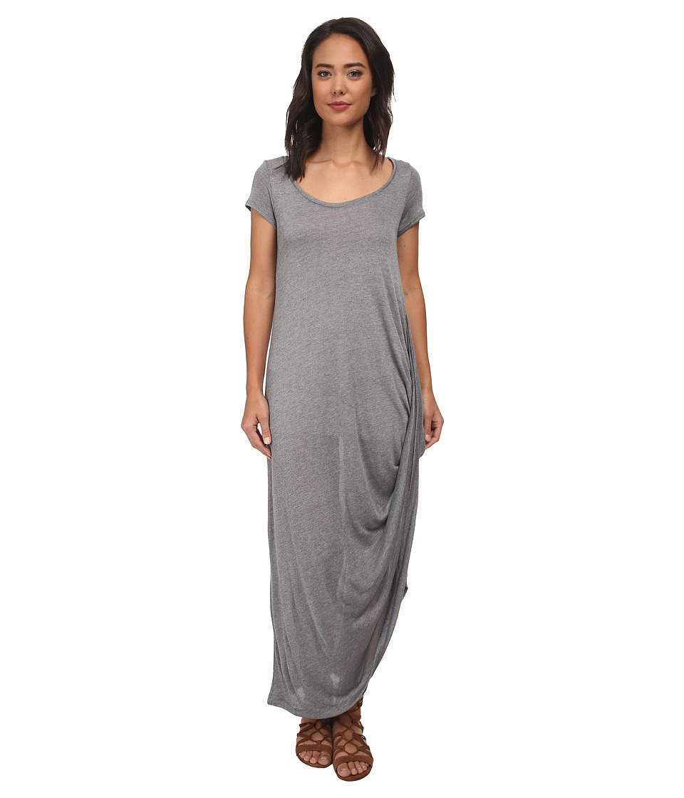 Free People - Hazy Jersey Harvest Moon Maxi (Grey) Women's Dress