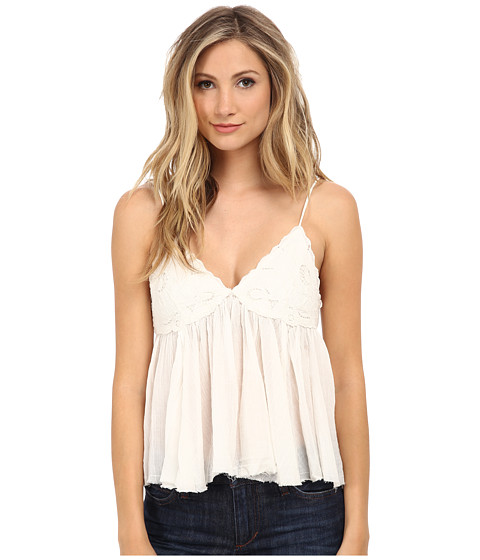 Free People - Birds In The Sky Top (Ivory) Women