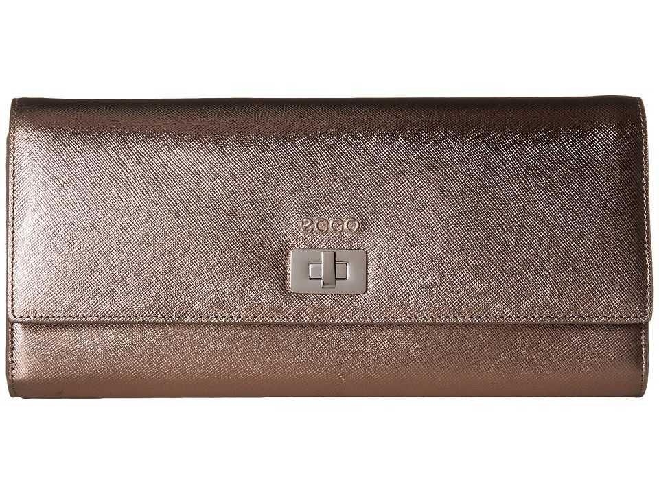 ECCO - Haya Clutch (Brownish Metallic) Clutch Handbags