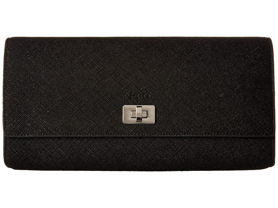 ECCO - Haya Clutch (Black Blob) Clutch Handbags