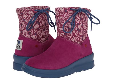 UGG - Knit Slouchy Mini Paisley (Festival Fuchsia Paisley) Women's Boots