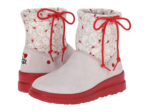 UGG - Knit Slouchy Mini Paisley (Dove Paisley) Women's Boots