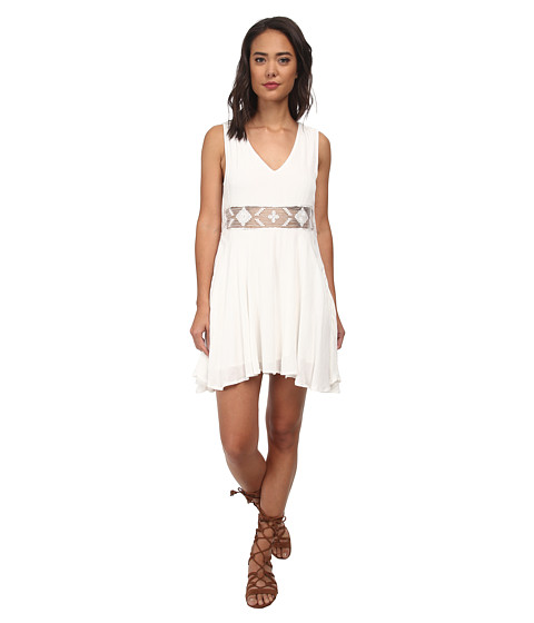 Free People - Snap Out Of It Summer Feeling Dress (Ivory) Women's Dress