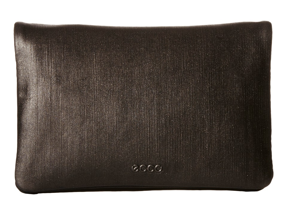 ECCO - Delight Slim Clutch (Black/Black/Bronze Naomi) Clutch Handbags