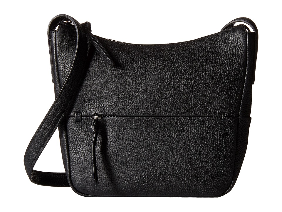 ECCO - SP Small Hobo Bag (Black) Hobo Handbags