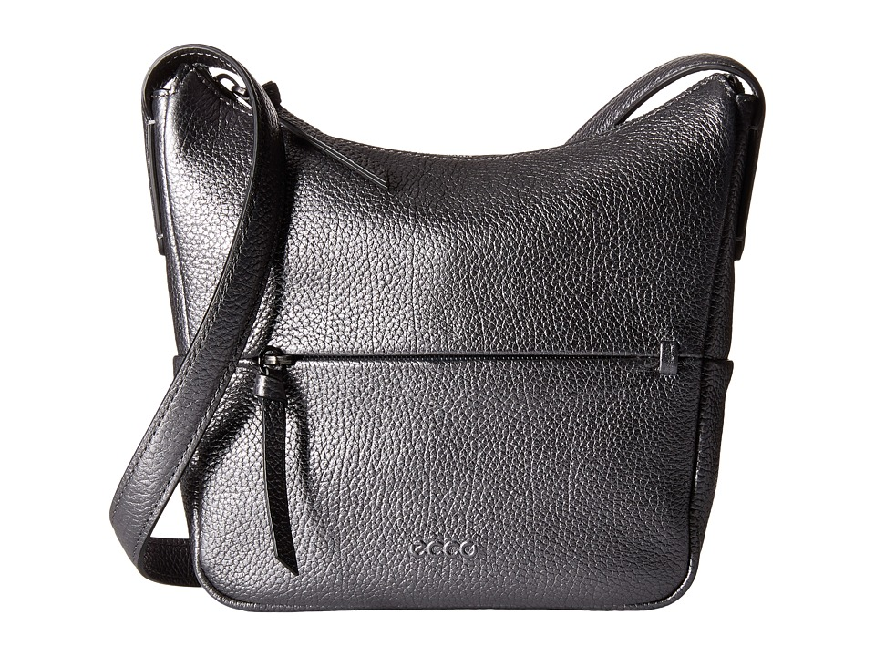 ECCO - SP Small Hobo Bag (Rebel Raven) Hobo Handbags