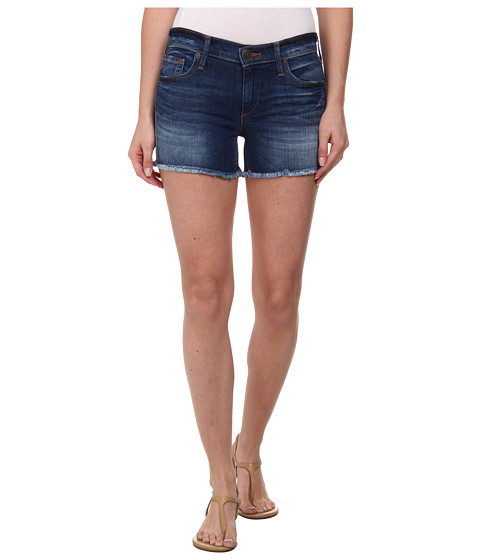 True Religion - Keira Low Rise Shorts in Crystal Spring Drive (Crystal Spring Drive) Women's Shorts