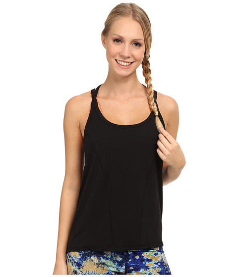 Zobha - Emery Strappy Halter Cami (Black) Women's Workout