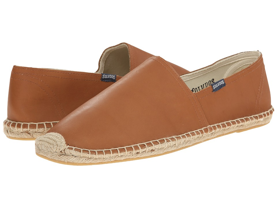 Soludos - Original Leather (Tan) Men's Flat Shoes