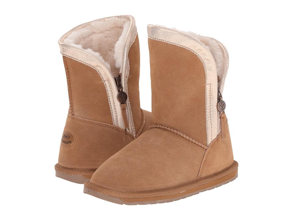 EMU Australia Kids - Saltbush (Toddler/Little Kid/Big Kid) (Chestnut) Girls Shoes