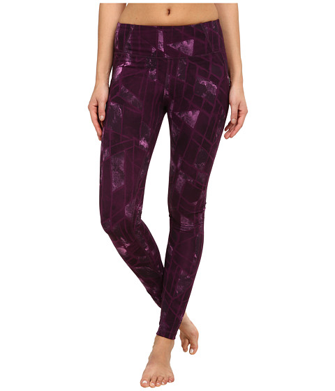 Zobha - Kadin Printed Leggings (Blackberry Wine) Women