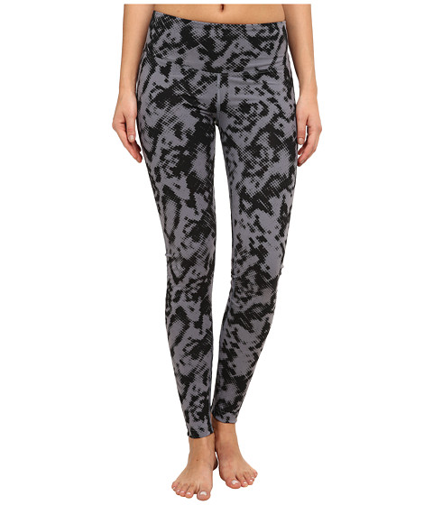 Zobha - Peyton Printed Shape Optimizing Leggings (Folkstone Gray) Women