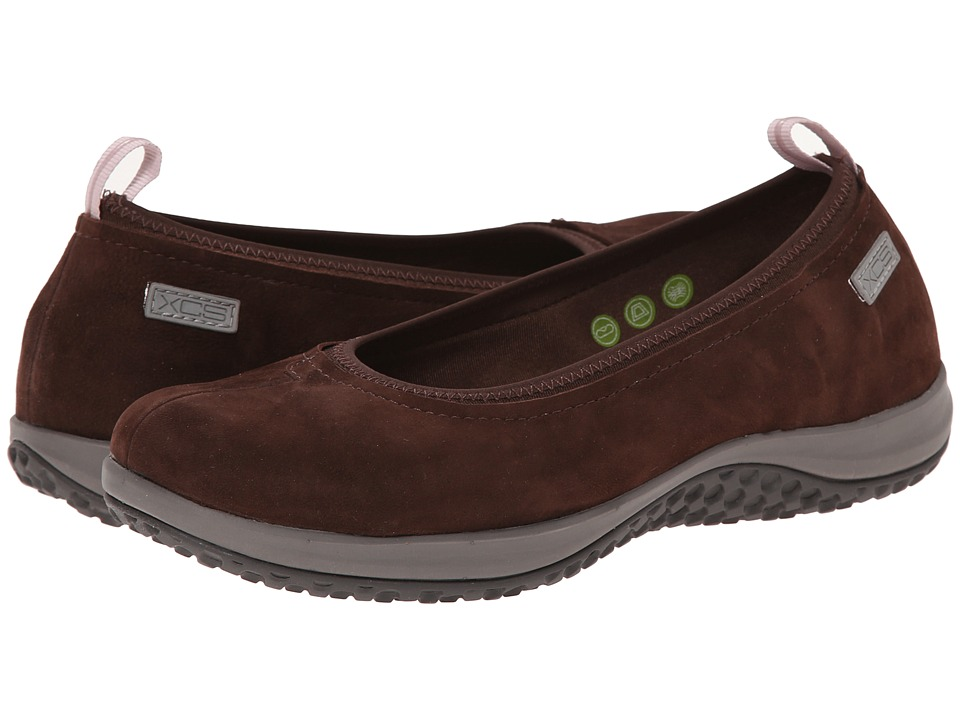 Rockport - Walk360 Ballet (Ebano Nubuck) Women's Shoes