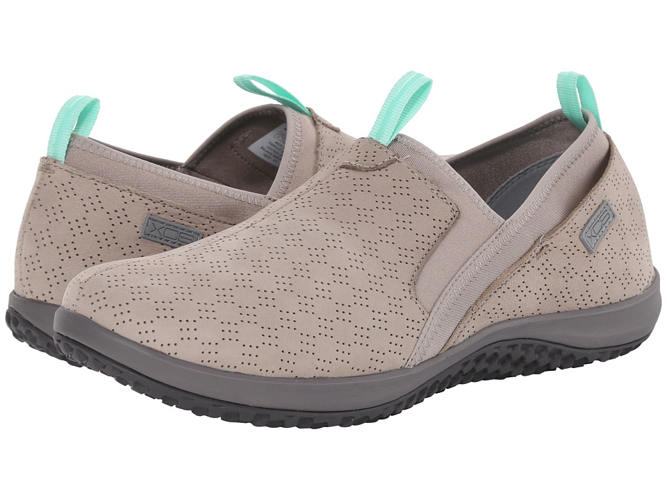 Rockport - Walk360 Perf Slip-On (Simply Taupe Nubuck) Women
