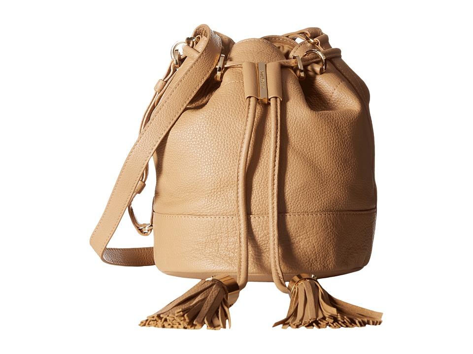 See by Chloe - Vicky Small Bucket Bag w/ Crossbody Strap (Capuccino) Cross Body Handbags