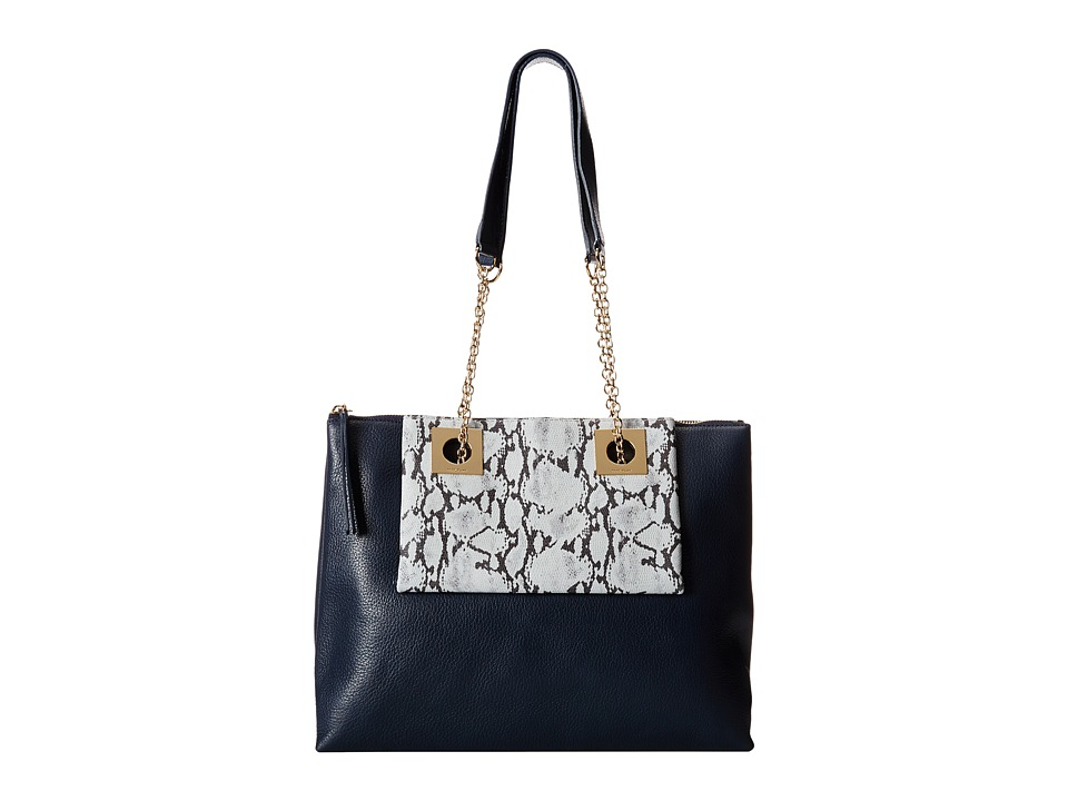 See by Chloe - Hailey East-West Tote (Midnight) Tote Handbags