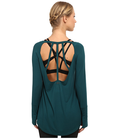 Zobha - Harley Open Back Tunic (Deep Teal) Women