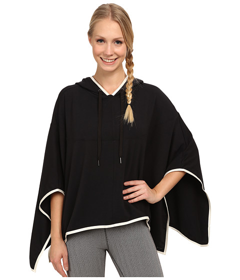 Zobha - Hunter French Terry Cape (Black) Women's Sweater