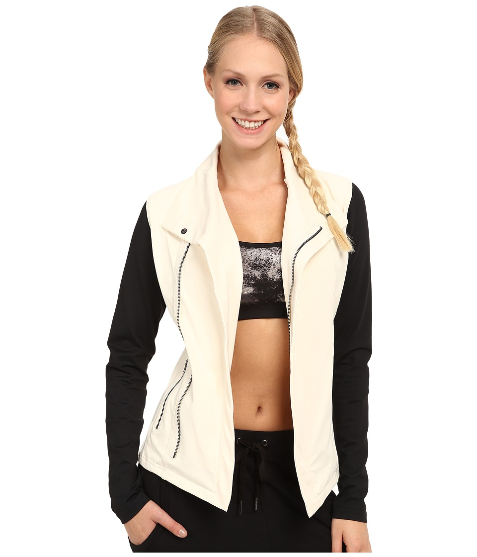 Zobha - Jaden Zip Jacket (Eggnog) Women's Workout