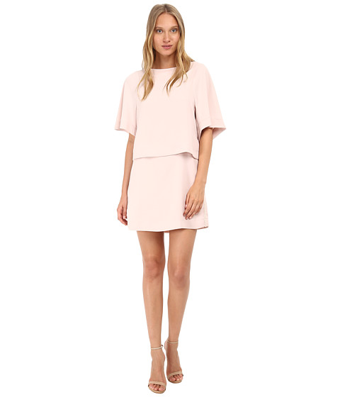See by Chloe - Crepe Mini Dress (Blush) Women