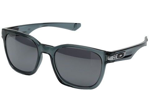 Oakley - Garage Rock (Crystal Black/Black Iridium) Plastic Frame Sport Sunglasses
