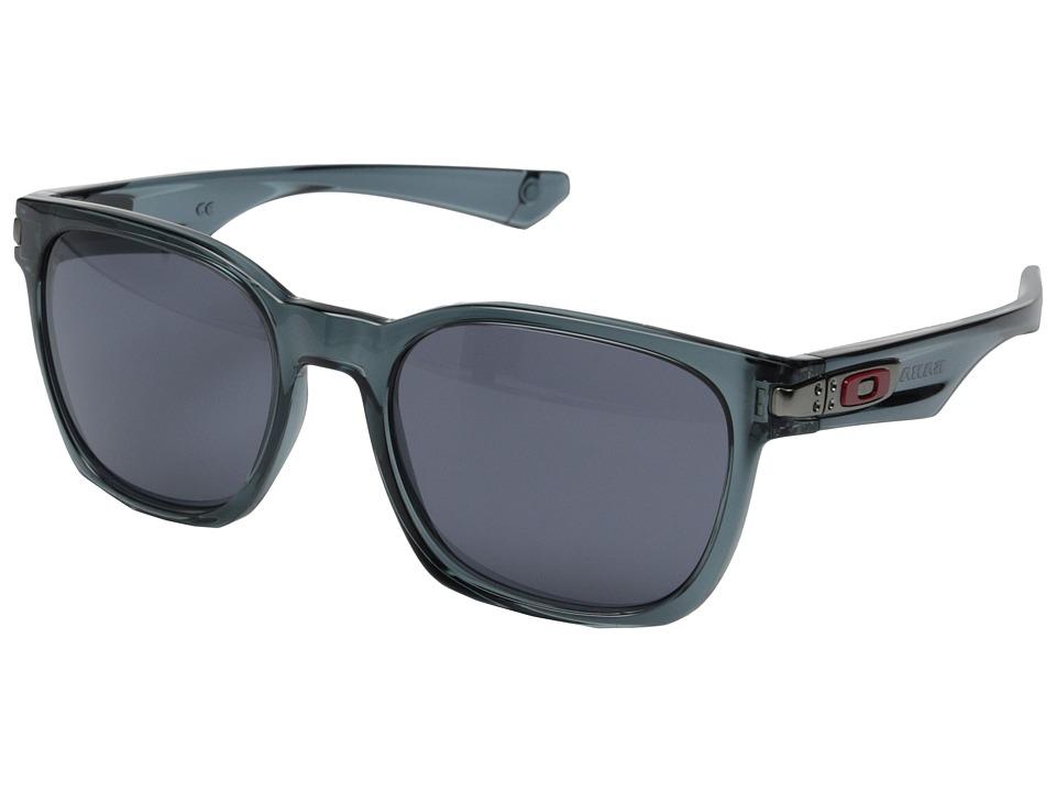 Oakley - Garage Rock (Crystal/Grey) Plastic Frame Sport Sunglasses