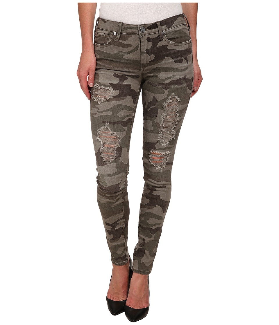 True Religion - Halle Pants (Destroyed Camo) Women's Casual Pants