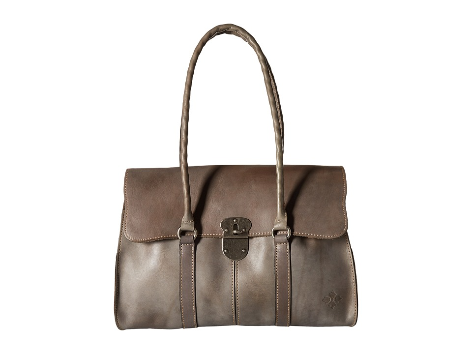 Patricia Nash - Vienna Satchel (Grey) Satchel Handbags