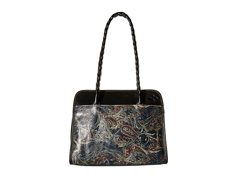 Patricia Nash - Large Paris Satchel (Feather Paisley) Satchel Handbags