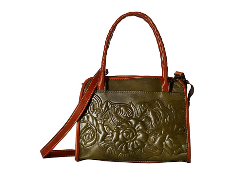 Patricia Nash - Paris Satchel (Sage) Satchel Handbags