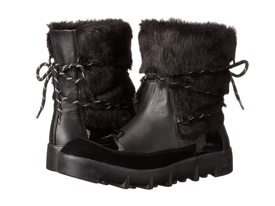 Joe's Jeans - Donovan (Black Leather) Women's Boots
